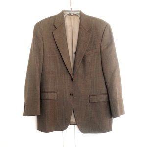 Ralph Lauren Pure Wool Herringbone Suit Jacket